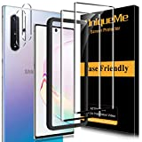[2+2 Pack] UniqueMe Screen Protector and Camera