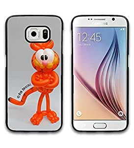 Garfield Samsung Galaxy S6 Funda Case Cover, Hard Protective Special Design Calssical Cartoon Skin For Boys Men