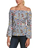 Bailey 44 Women's Horticulture Bell Sleeve Off The Shoulder Top, Multi, XS