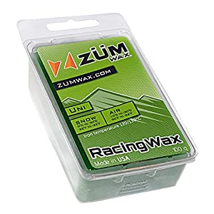 ZUMWax Ski/Snowboard RACING WAX Universal 100 gram INCREDIBLY FAST in ALL Temperatures !!!