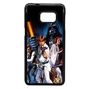 caso de Star Wars original X7G21N2UY funda Samsung Galaxy S6 Edge Plus funda 4543RG negro