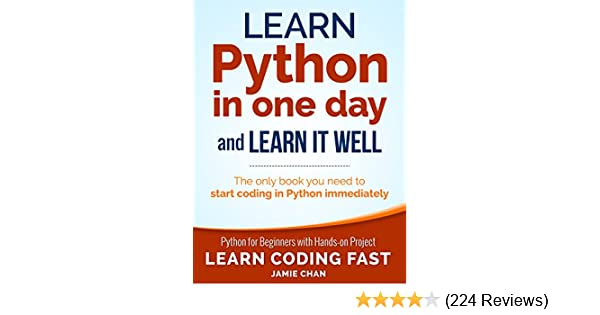 learn python in one day jamie chan pdf