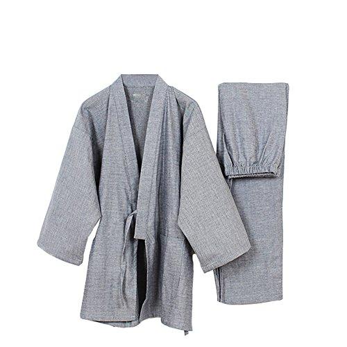 Hombres Meditación Pumpkin Kimono Gray274 Traje Para Japonés De Fancy Estilo Pijamas H1zqt1S