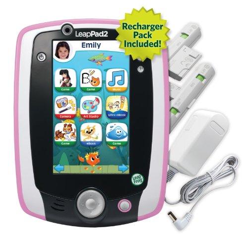LeapFrog LeapPad2 Power Learning Tablet, Pink by LeapFrog (Image #1)