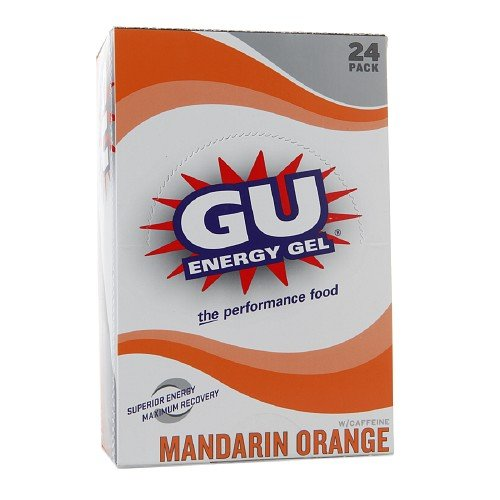 Gu Energy Gel-dietary Supplements, Mandarin Orange 24 Ea (Pack of 3) by GU