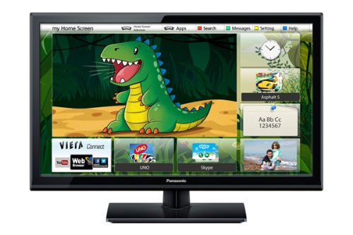 "Panasonic 24"" Smart VIERA LED TV - featuring ""My Home Screen"", WiFi built in, HD Ready, Freeview HD (Energy Efficiency Class A)"