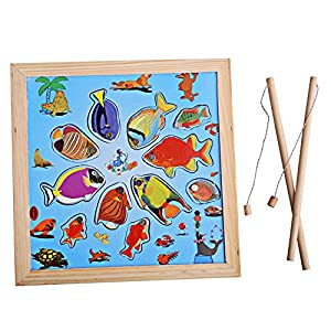 Children Magnetic Fishing Game Rod Fish Catch Bath Fun Toy Kids, Learning Toy Gift