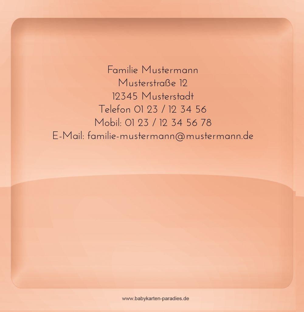 Kartenparadies Dankeskarte Taufe Taufe Dankeskarte Spiegelung, hochwertige Danksagung Danksagung Danksagung für Taufgeschenke inklusive Umschläge   10 Karten - (Format  145x145 mm) Farbe  BeigeOrange B01MTF05PM | Hochwertig  | Ausgezeichnetes Preis  | Luxus  45052a