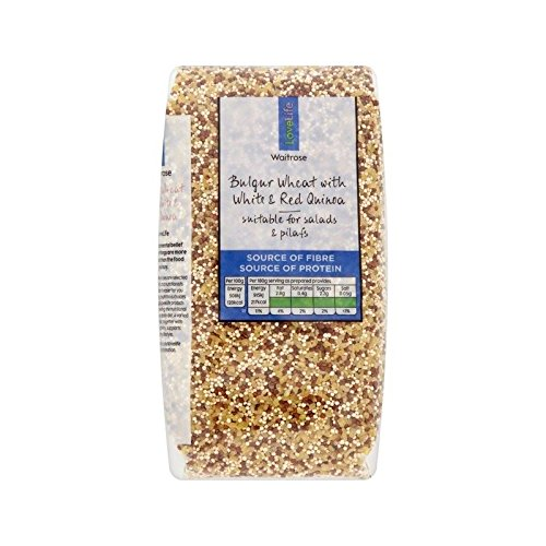 Mixed Quinoa with Bulgar Wheat Waitrose Love Life 500g - Pack of 6 by WAITROSE