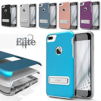 iPhone 7 Plus Case, Zizo [Elite Series] w/ FREE [iPhone 7 Plus Screen Protector] Shockproof Protection with Built-in[Magnetic Kickstand] iPhone 7 Plus