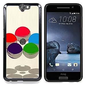 - Abstract Sphere Sci Fi Atom Nucleus/ Duro Snap en el tel????fono celular de la cubierta - Cao - For HTC ONE A9