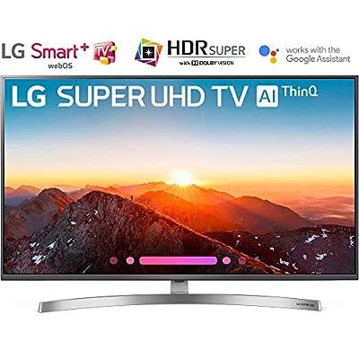 "LG 49SK8000PUA 49""-Class 4K HDR Smart LED AI Super UHD TV w/ThinQ (2018 Model) - (Certified Refurbished)"