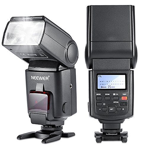 Neewer Speedlite Flash E TTL Camera Flash High-Speed Sync for Canon 5D MARK 2 3 6D 7D 70D 60D 50D 760D 700D 600D 650D T6I T5I T3I T2I and other CANON DSLR Cameras
