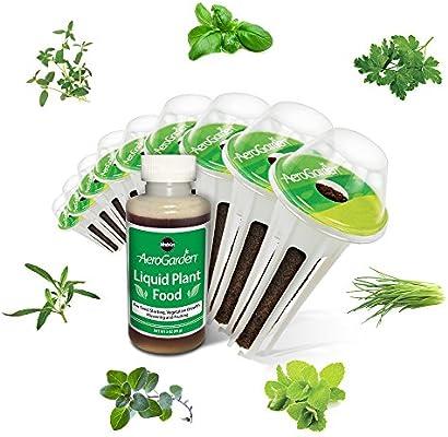 Amazon.com : AeroGarden Italian Herb Seed Pod Kit (9 Pod) : Garden U0026 Outdoor
