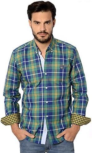 Valecuatro Camisa Hombre Verde M: Amazon.es: Ropa y accesorios
