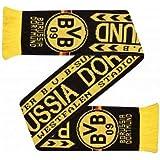 BVB Borussia Dortmund Crest Soccer Scarf
