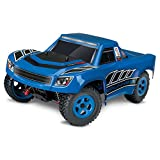 Traxxas LaTrax Electric 4WD Desert Prerunner Remote Control Race Truck with 2.4GHz Radio (1 18 Scale) - Blue