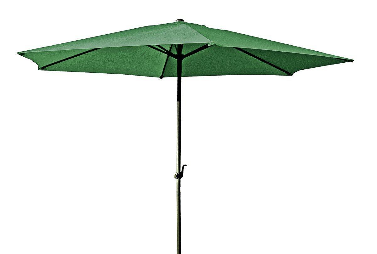 3 M Sonnenschirm Farbe Creme Amazon De Garten