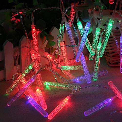 Led 100 Micro Icicle Light String in US - 8