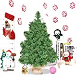 front porch decorating ideas Artificial Christmas Tree. This Tabletop Fake Xmas Spruce Tree 2 ft. Looks Real, Natural. Great for Indoor, Outdoor, Home, Patio, Gazebo, Backyard, Front Porch, Deck Holiday Season Party Decor