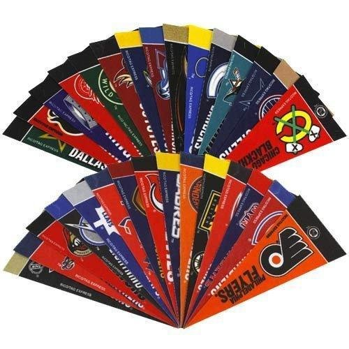 Nhl Collectibles (NHL Hockey Complete 30 Team 4x9 Mini Pennant Set)