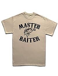 Master Baiter Funny Fishing Carp Bait Rod Tackle Fly T Shirt