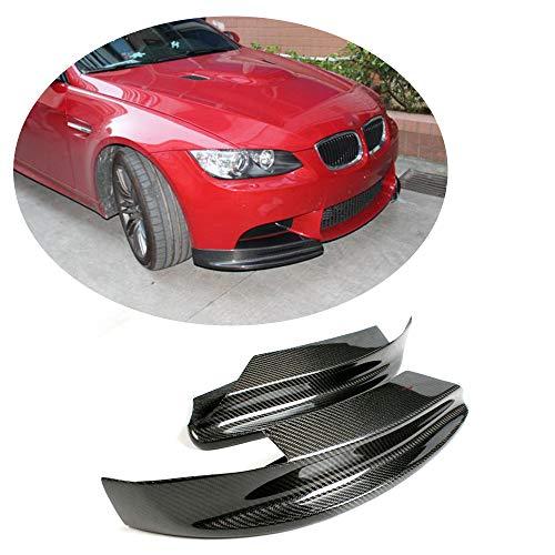 MCARCAR KIT For BMW 3 Series M3 E90 E92 E93 2009-2013 Customized CNC Moulding Carbon Fiber Top Fit Front Bumper Lip Chin Spoiler Splitter Aprons