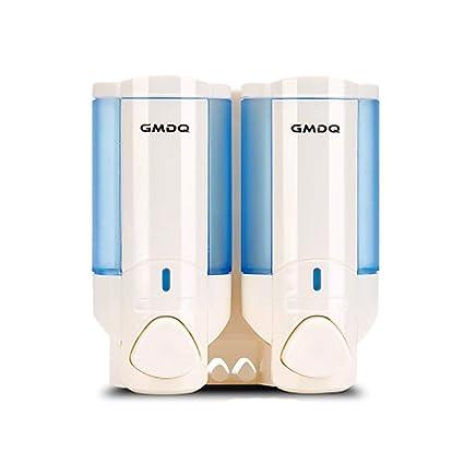 Dispensador de jabón líquido plástico de abs Dispensador de jabón montado en la pared Pueden rellenarse