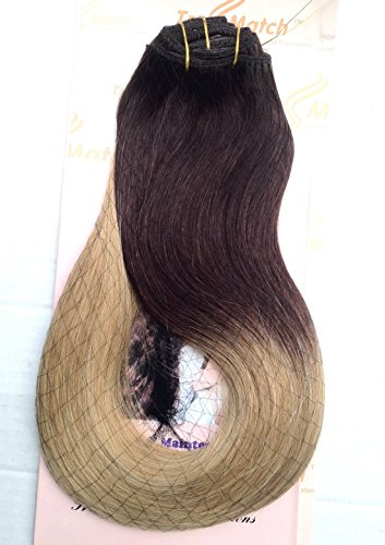 """Tressmatch 20"""" Thick to Ends Clip in Remy Human Hair Exten"""