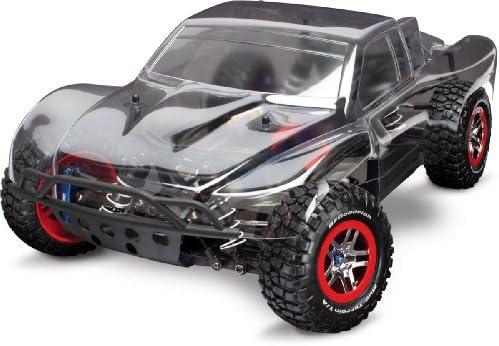 Traxxas 1 10 Slash 4x4 Brushless Short Course Truck Platinum Edition Amazon Com Au Toys Games