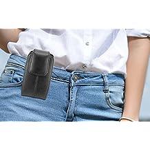 Vertical Belt Clip Loops Cell Phone Pouch Case Fits LG G6 Plus G6 Q8 V20 K10 K20 V Plus X Venture X Power Harmony Stylo 2 V Plus 3 Plus 3 ZTE Blade V8 Pro HTC U11 U Play Bolt Desire 10 Pro Lifestyle