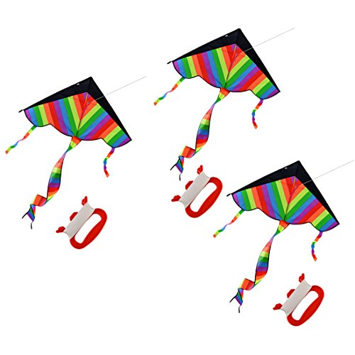 RuiyiF Kites for Boys Girls Kids Child Children Colorful (Pack of 3) by RuiyiF