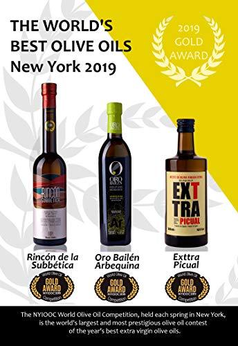 Medalla De Oro Nueva York 2019 Premio Mejores Aceites De Oliva Virgen Extra Del Mundo Exttra Picual Oro Bailen Arbequina Rincon De La Subbetica Cosecha 2019 20 Por Oliva Oliva
