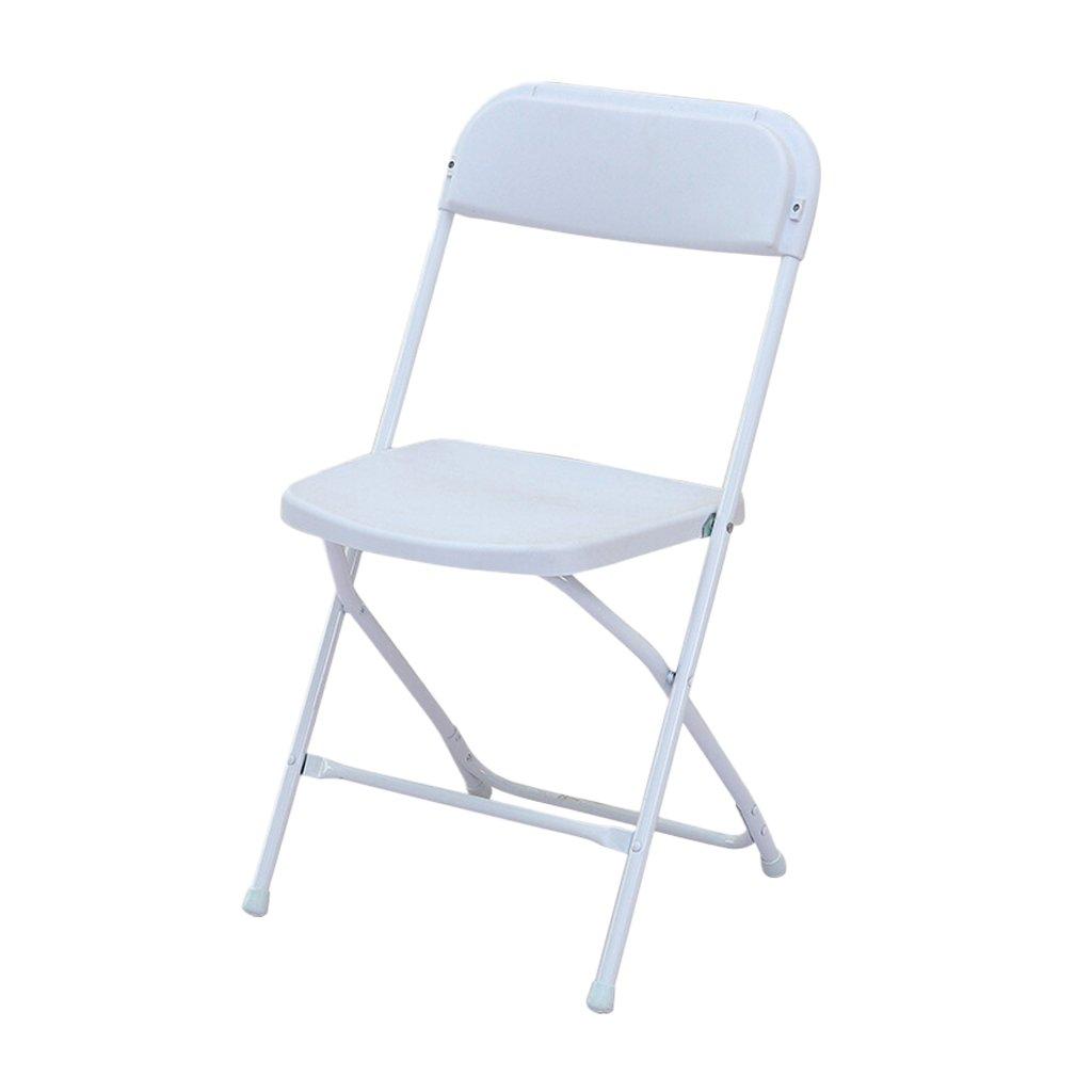 【おトク】 椅子 折りたたみ椅子環境保護ABSプラスチック製の座席背もたれ椅子をきれいにするファミリーレストランコンピュータデスクブックルームオフィスミーティングルーム使用 (色 (色 B07FJM8N4D : 白) 白 白 B07FJM8N4D, 木の香-woody shop-:84059005 --- ciadaterra.com