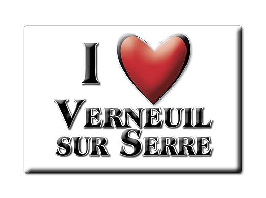 Enjoymagnets VERNEUIL Sur Serre Souvenir IMANES DE Nevera Reino ...