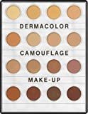 Kryolan 71006 Dermacolor Camouflage Mini palette, 16 Colors. 3 Color Variations (MEDIUM, Nr.1, Nr. 2) (Nr. 1)