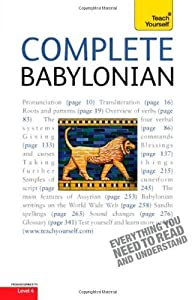 Complete Babylonian : A Teach Yourself Guide 1st par Martin Worthington
