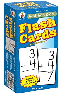 3w x 6h 93/Pack-CDPCD3929 Carson Dellosa Division Facts 0-12 Flash Cards Carson-Dellosa Publishing CD3929