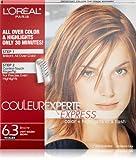 L'Oréal Paris Couleur Experte Hair Color + Hair Highlights, Light Golden Brown - Brioche