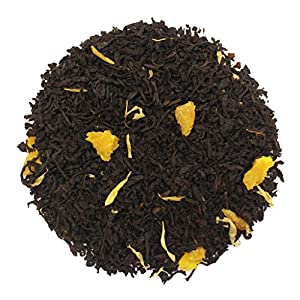 The Tea Farm - Mango Guava Black Fruit Tea - Premium Tropical Hawaiian Loose Leaf Black Tea Blend (4 Ounce Bag)