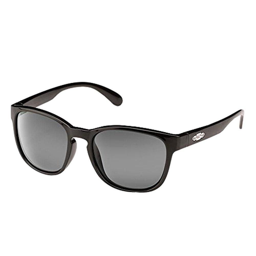 Suncloud Optics Loveseat Polarized Sunglasses (Black,Gray Polarized) Lens Width: 57