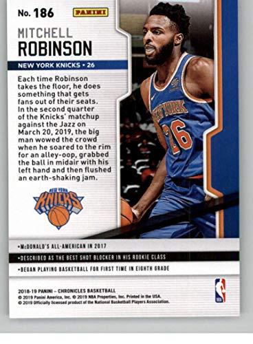 Amazon com: 2018-19 Playoff #186 Mitchell Robinson New York Knicks