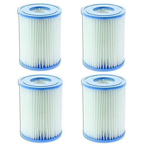First4spares Filter Cartridges For Bestway Lay-Z Swimming Pools & Spas Pack of 4