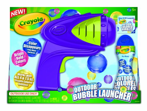 Crayola Powered Bubble Launcher by Crayola