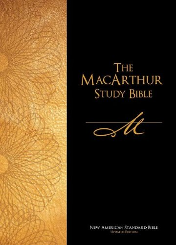 The Macarthur Study Bible: New American Standard Bible, Updated, Thumb Indexed