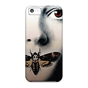 forever phone cover case Hd Eco Package iphone 5s - the silence of the lambs face eyes