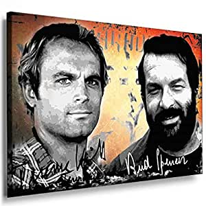 Movie Stars -7033, Size 100x70x2 Cm. Printed On Canvas Stretched On A Wooden Frame.