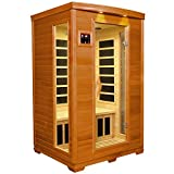 Cheap DYNAMIC SAUNAS AMZ-DYN-6232-04 Milan 2-Person Far Infrared Sauna