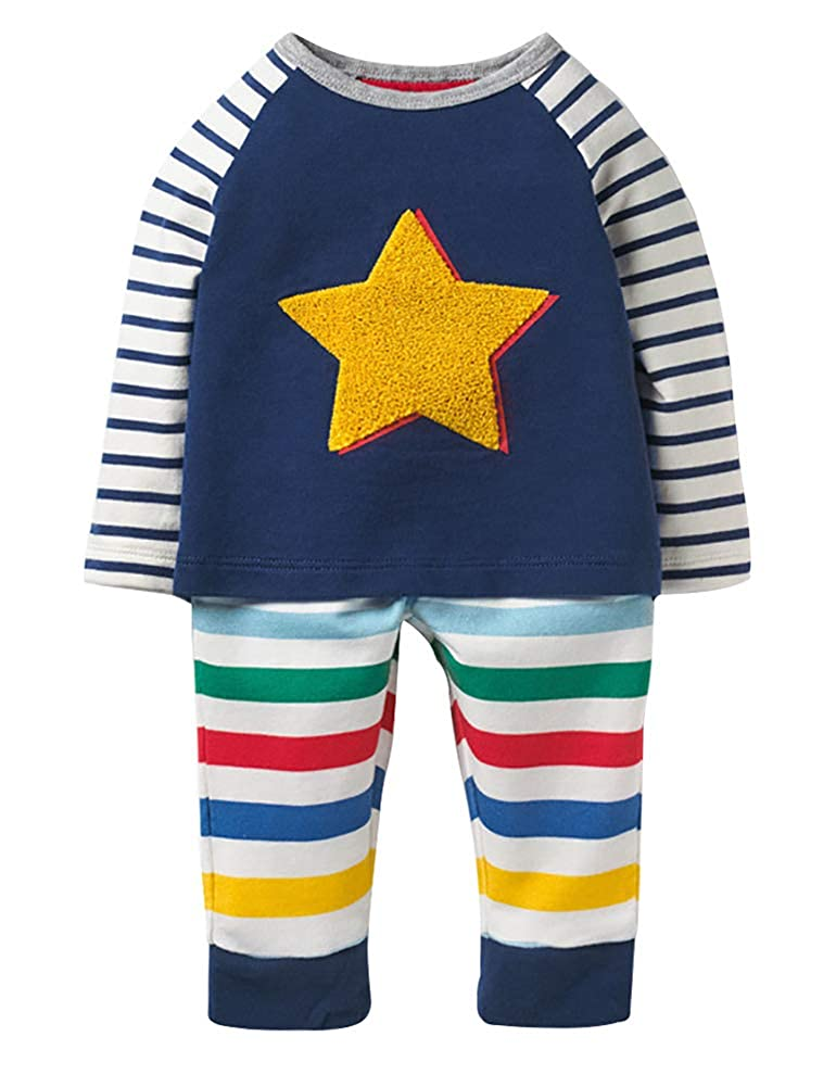 Fiream Little Boys' Cotton Clothing Short Sets TZset006