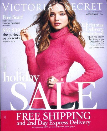 Victoria's Secret Catalog - Holiday Sale 2009: Miranda Kerr - Miranda Secret Victoria Kerr